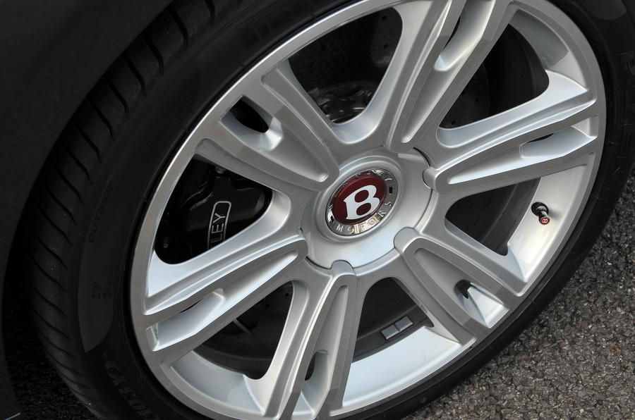 21in Bentley Flying Spur alloy wheels