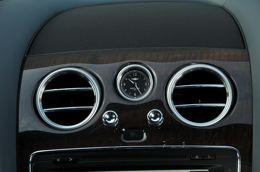 Bentley Flying Spur V8S air vents