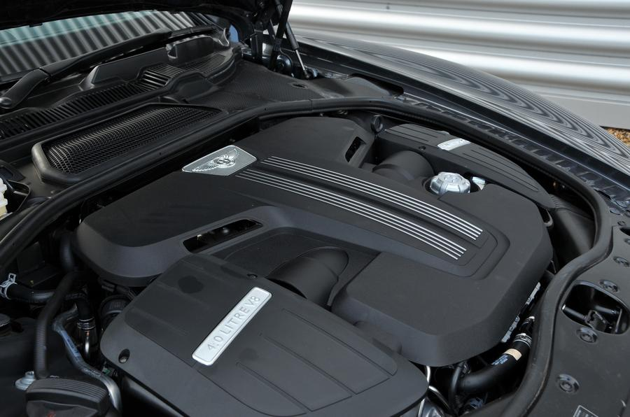 4.0-litre V8 Bentley Flying Spur V8S engine