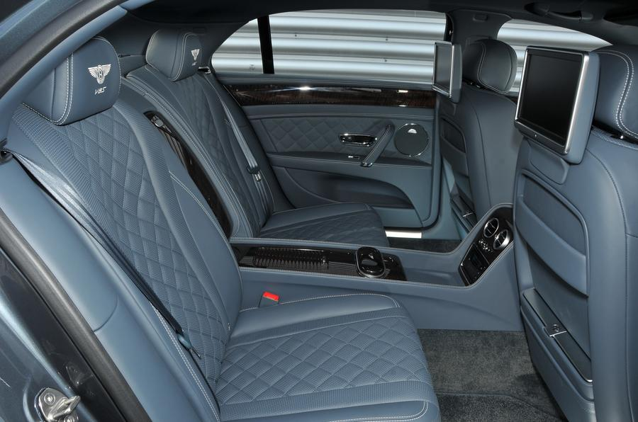 Bentley Flying Spur V8S rear seats