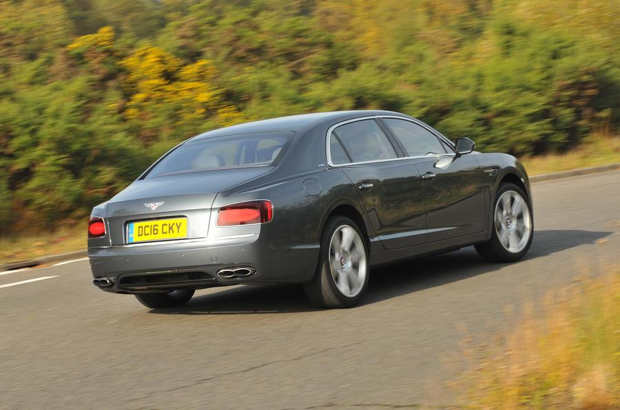 Bentley Flying Spur V8S rear