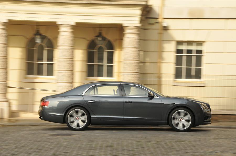 Bentley Flying Spur V8S side profile