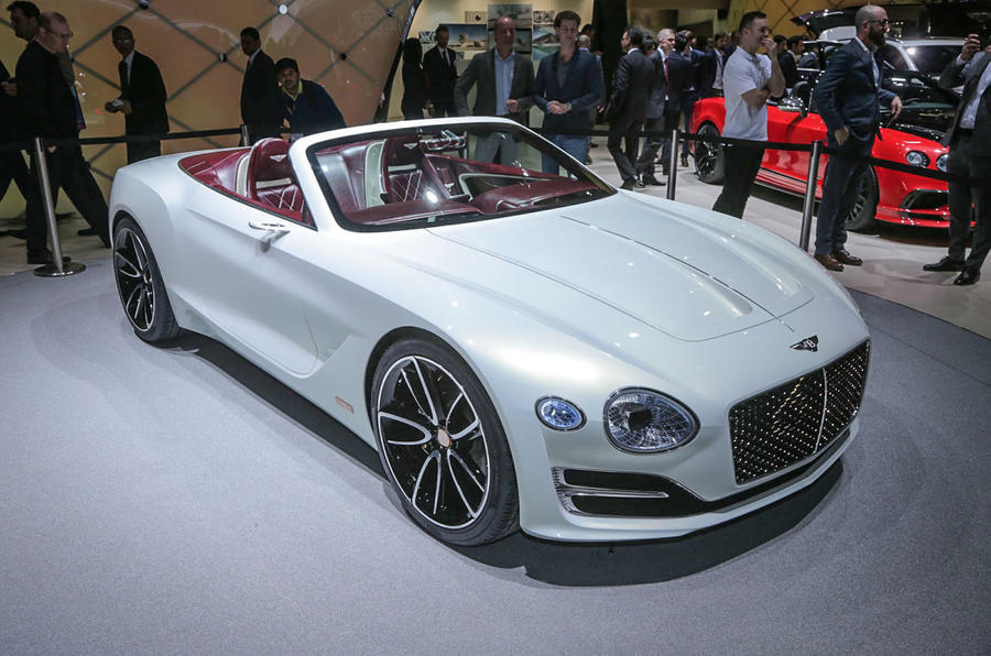Bentley's EXP12 Speed 6 e concept