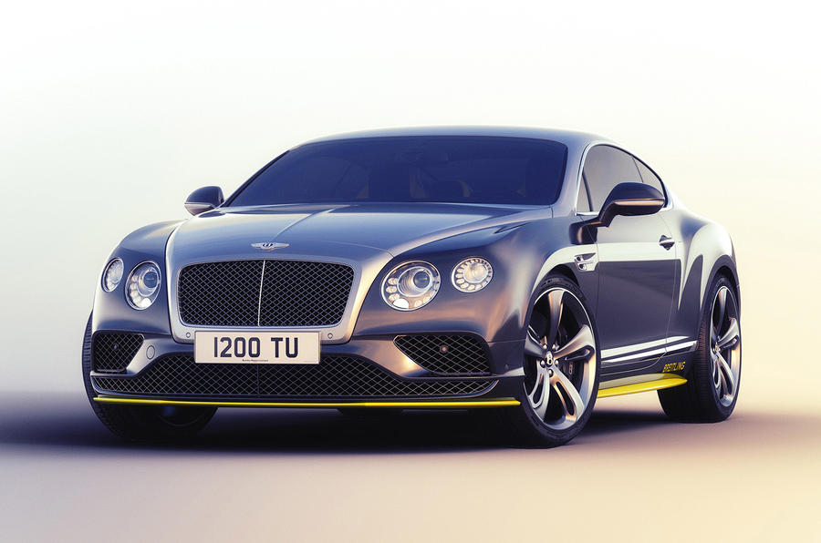 Breitling For Bentley >> New Bentley Continental GT Speed special editions ...