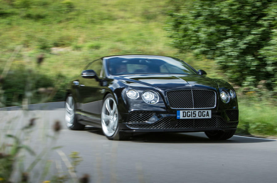How much is a bentley continental gt speed