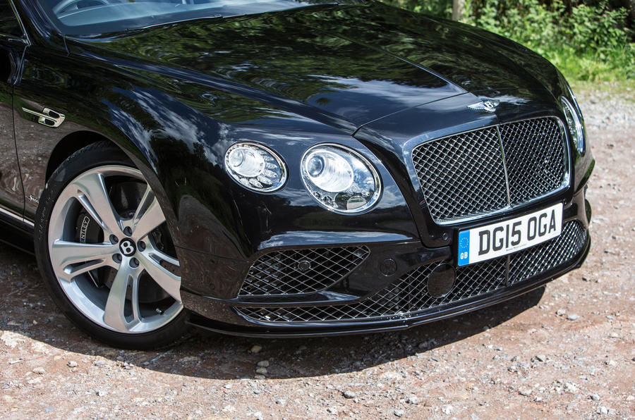 Bentley Continental GT front nose