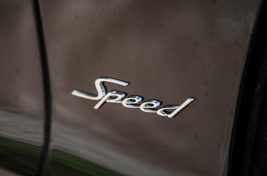 Bentley Continental GT Speed badge