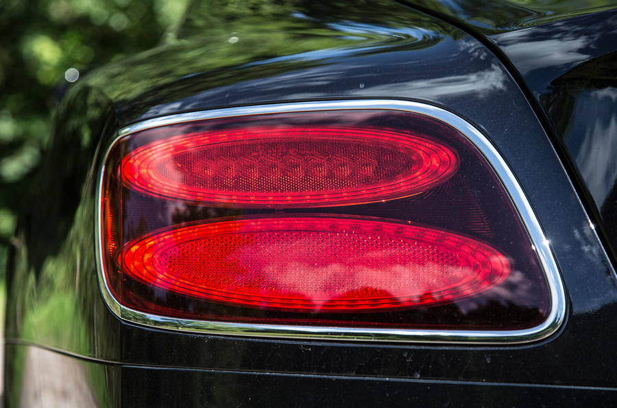 Bentley Continental GT tailight