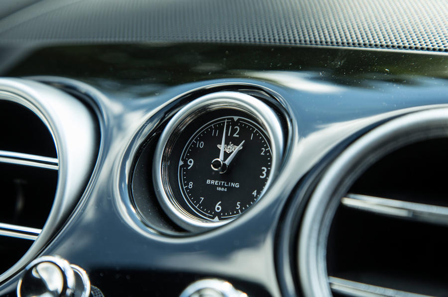 Bentley Continental GT clock