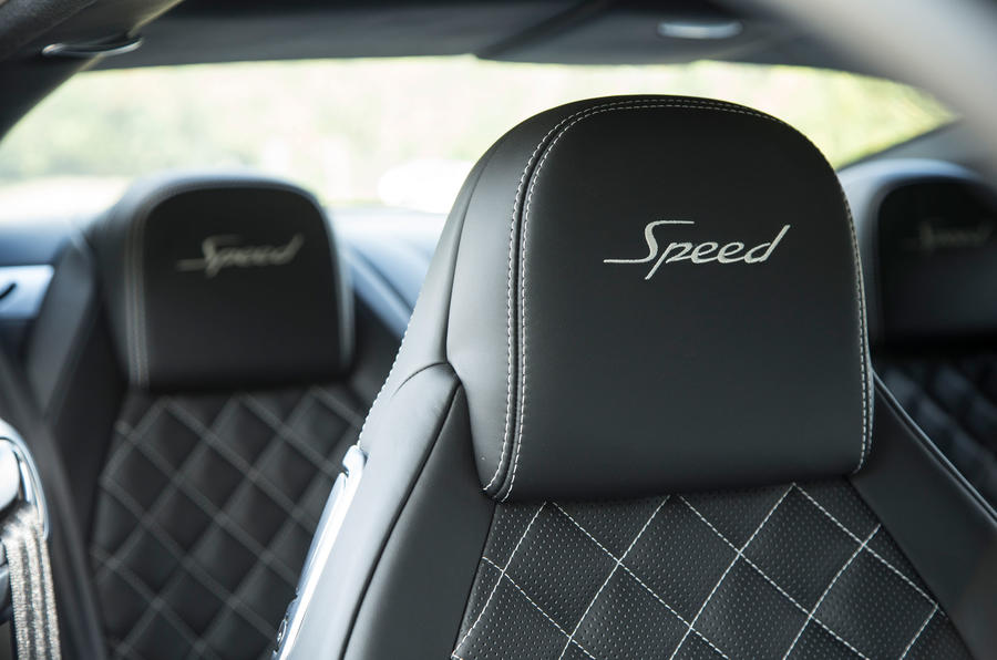 Bentley Continental GT Speed stitching