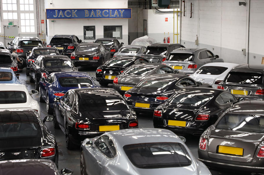 Autocar visits Jack Barclay Bentley in London