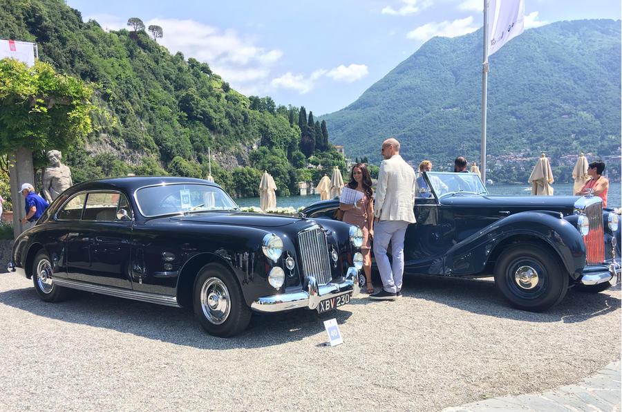 Bentley Mk VI and Bentley Mk VI Cresta Villa D'Este 2017