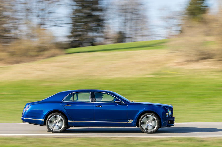 £252,000 Bentley Mulsanne Speed