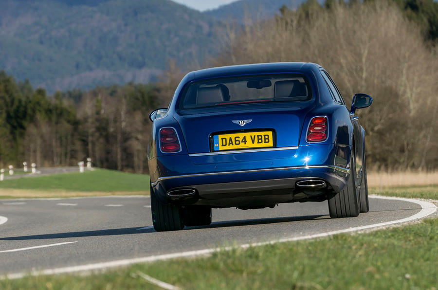 Bentley Mulsanne Speed rear