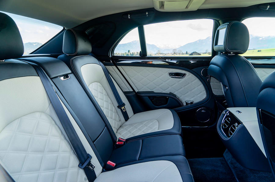 Bentley Mulsanne Speed rear seats
