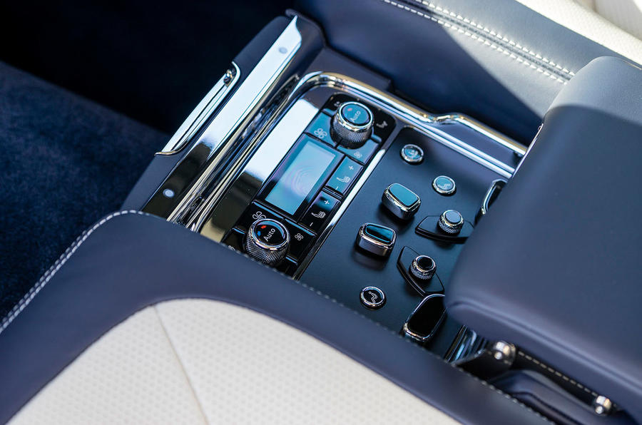 Bentley Mulsanne Speed climate control