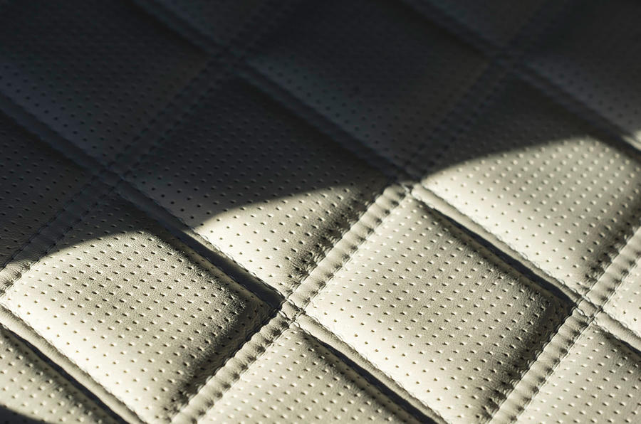 Bentley Mulsanne Speed quilted seats