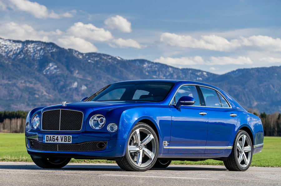 4 star Bentley Mulsanne Speed