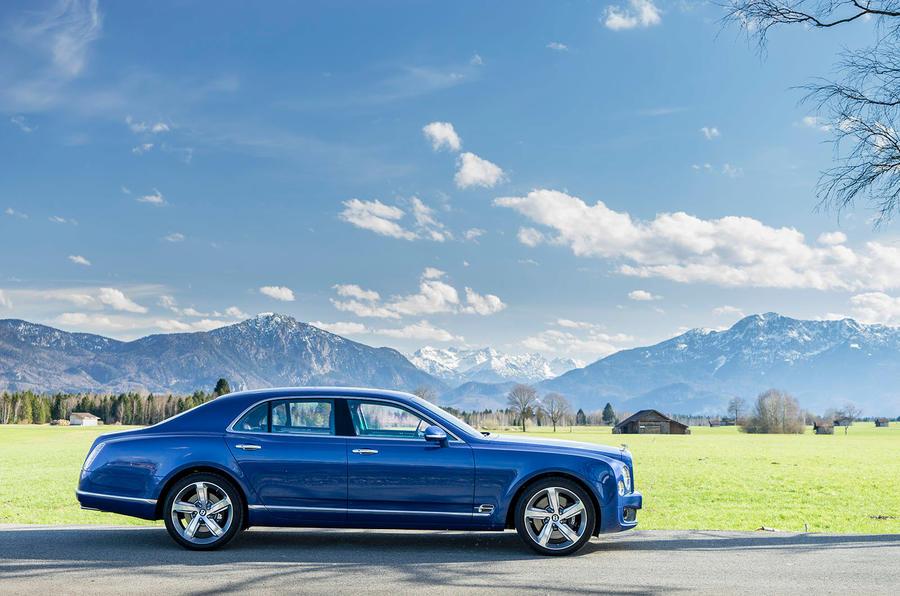 190mph Bentley Mulsanne Speed