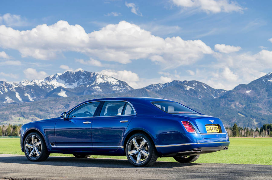Bentley Mulsanne Speed rear quarter