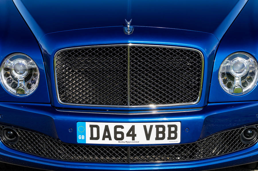 Bentley Mulsanne front grille