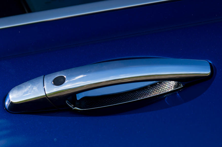 Bentley Mulsanne chrome door handle