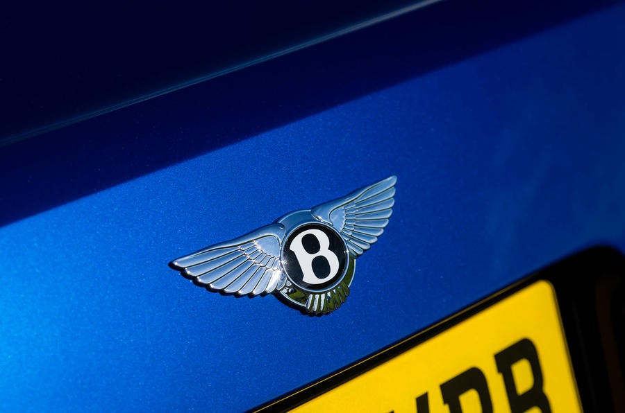 Bentley bootlid badge
