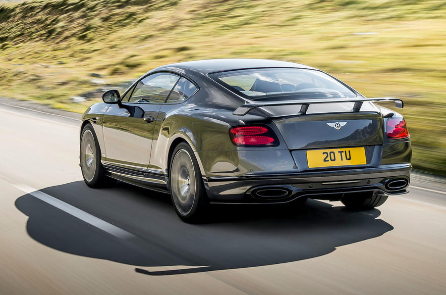 ... 2017 Bentley Continental Supersports Is Fastest Accelerating Bentley  Yet ...