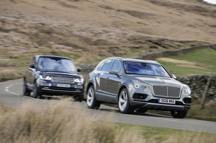 Bentley bentayga dimensions