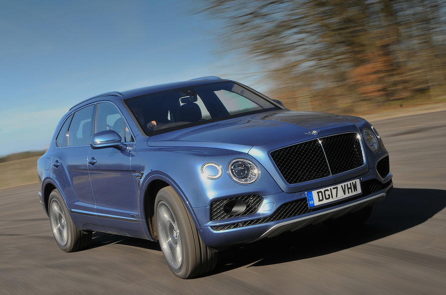 Bentley Bentayga diesel dropped in Europe