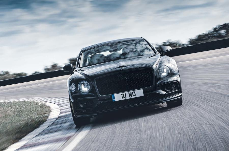 Bentley Flying Spur prototype at Nardo