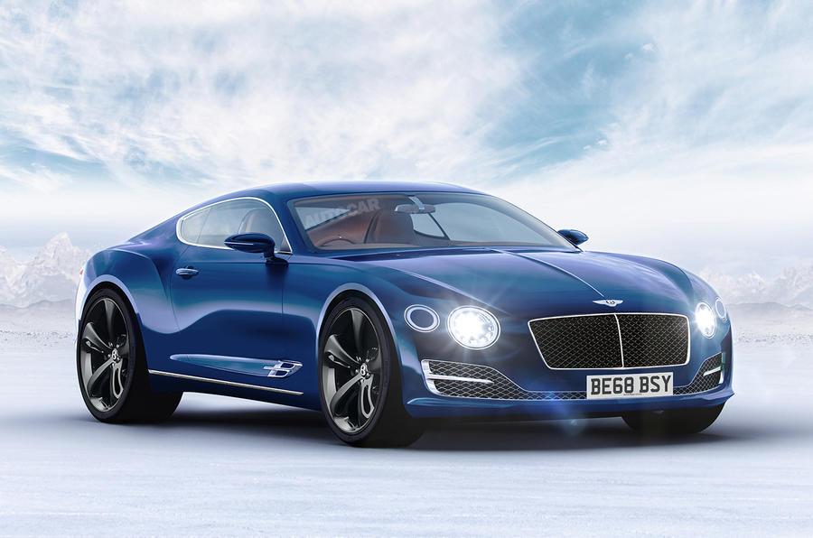 Bentley sport car