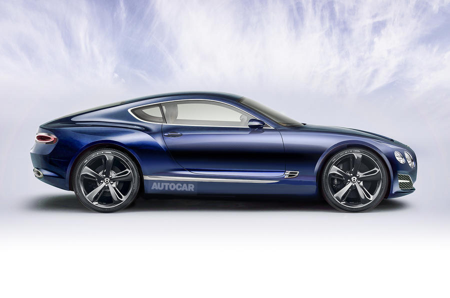 Bentley Continental GT to be brand's most high-tech car yet