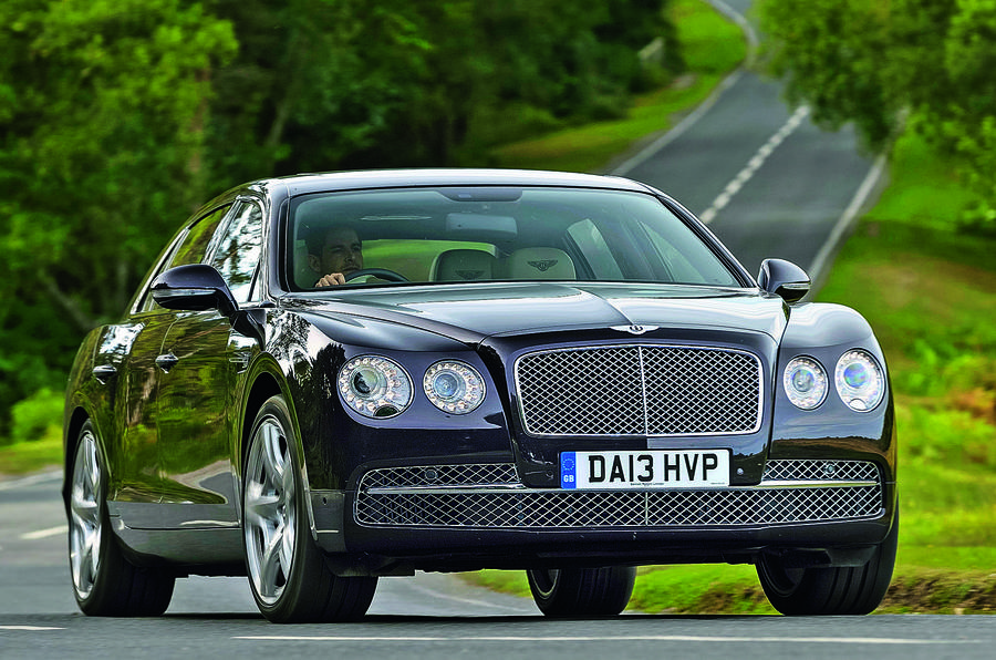 2013 Bentley Flying Spur - cornering front