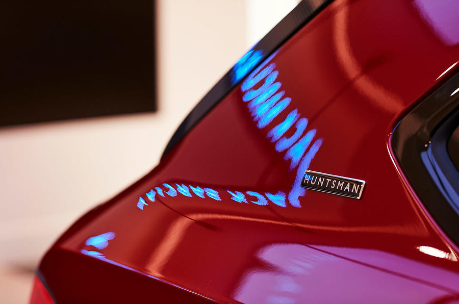Limited-edition Bentley Bentayga rear roofline