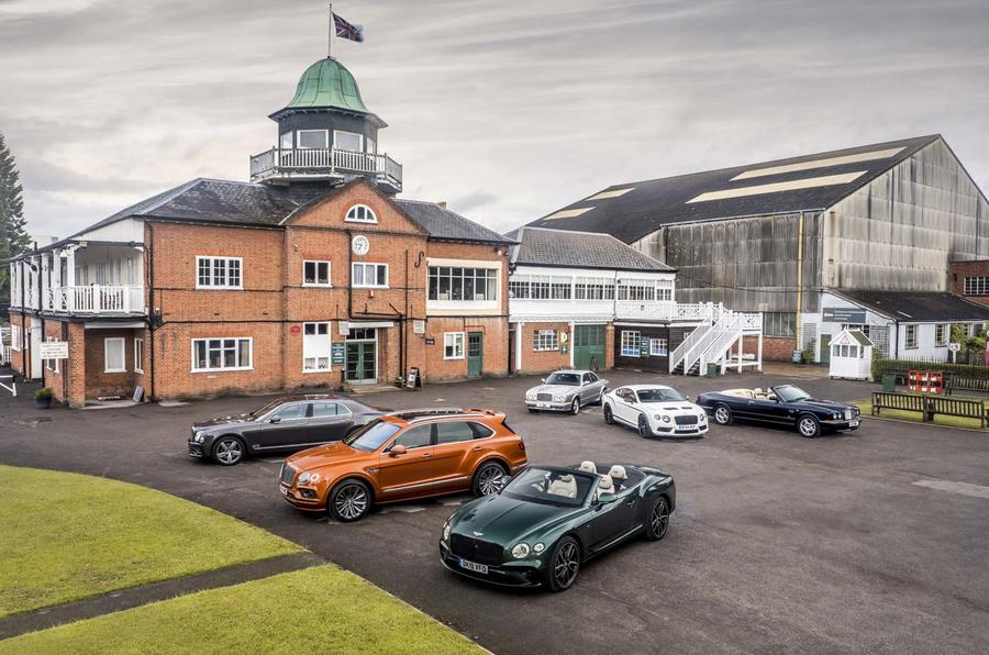 Bentley collection at Brooklands