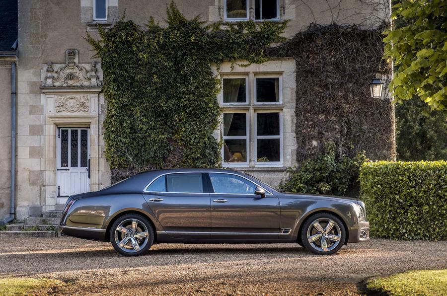 Bentley Mulsanne side