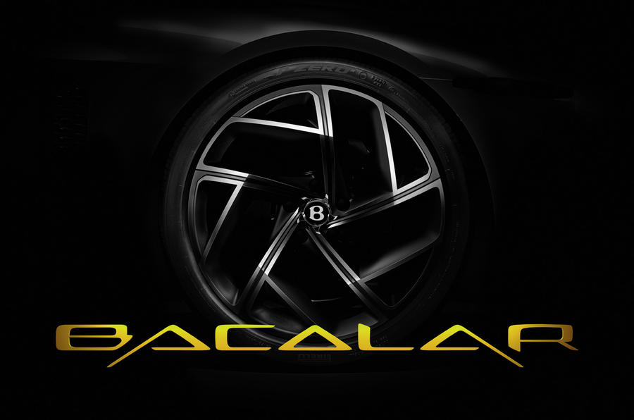 Bentley Mulliner Bacalar preview