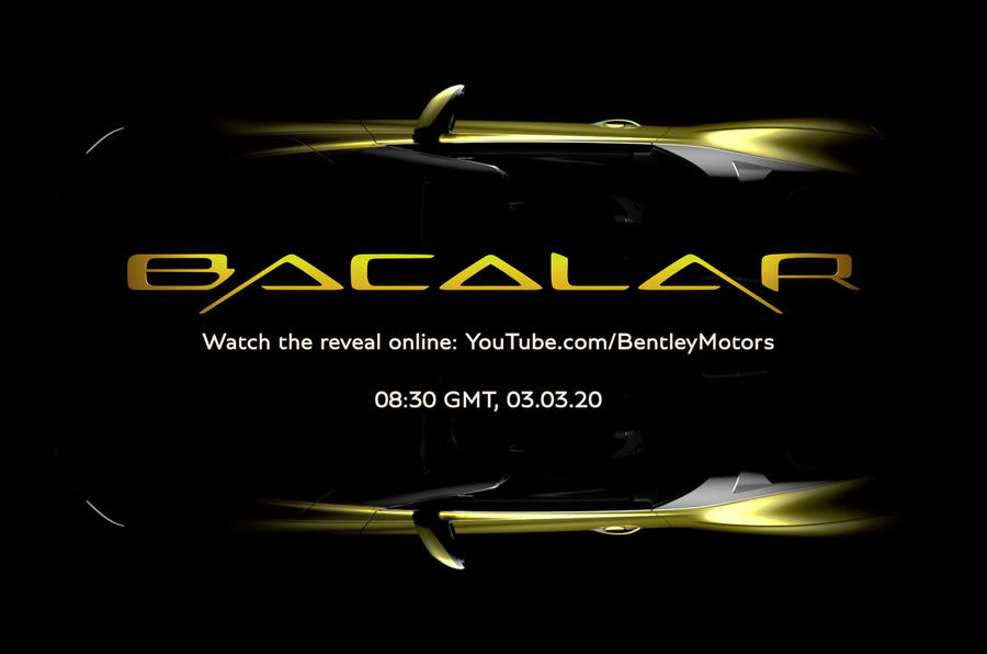 Bentley Mulliner Bacalar preview image
