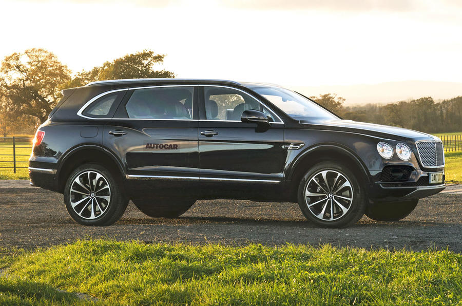Bentley Bentayga-based SUV render