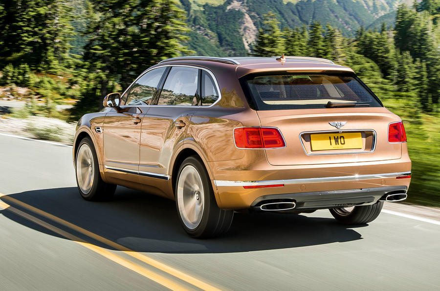 bentley new car releaseNew 160k Bentley Bentayga is sold out for first year of