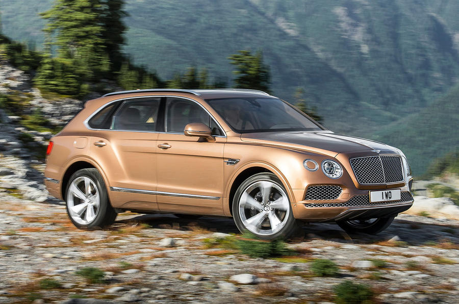 New £160k Bentley Bentayga is sold out for first year of production ...