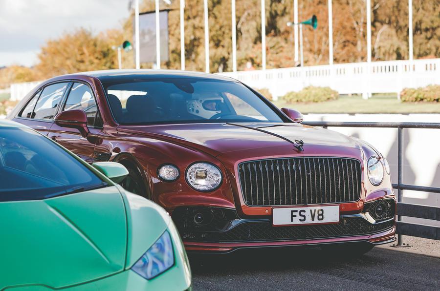 2020 Bentley Flying Spur V8 at Goodwood Speedweek