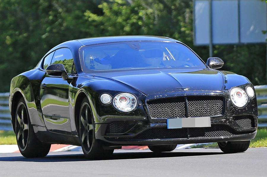 2018 Bentley Continental GT spy