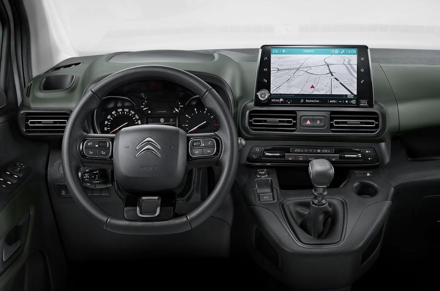 Citroen Berlingo 2018 first drive review dashboard