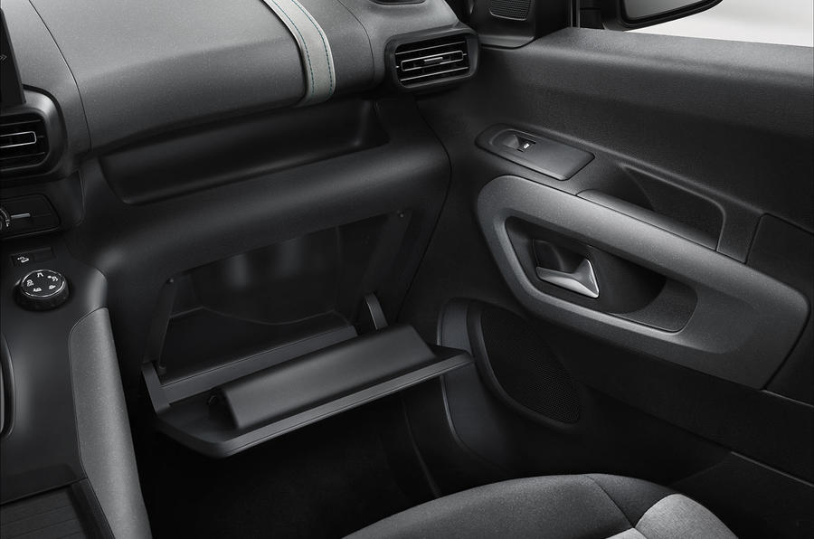 Citroen Berlingo 2018 first drive review storage
