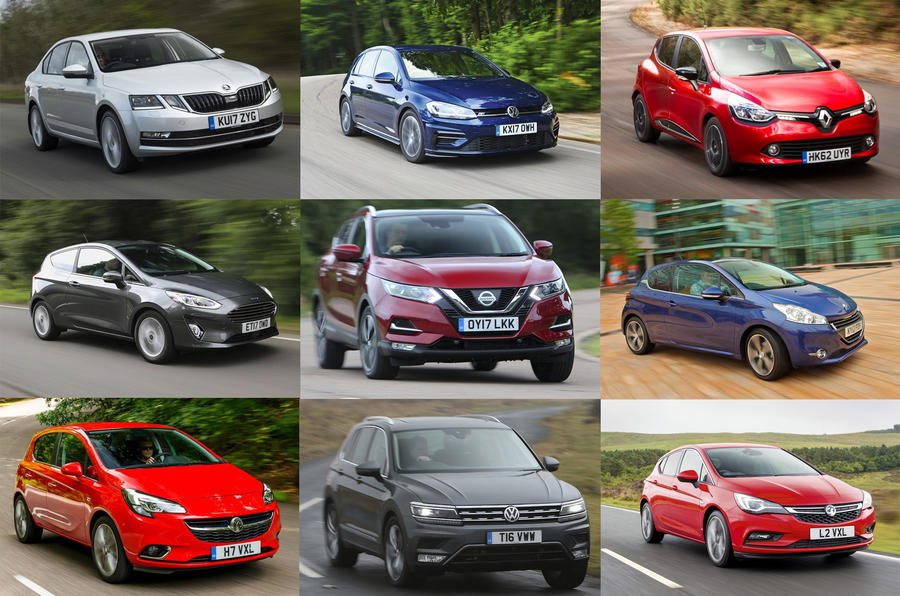 The best-selling cars in Europe 2017