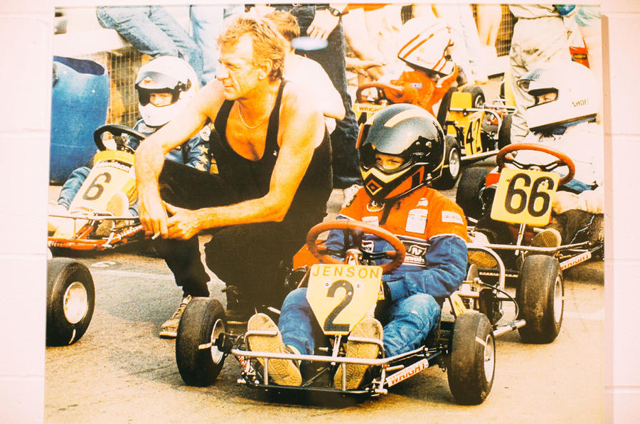 Jenson Button and his father John