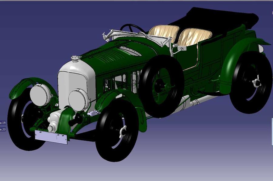 Bentley Blower continuation render