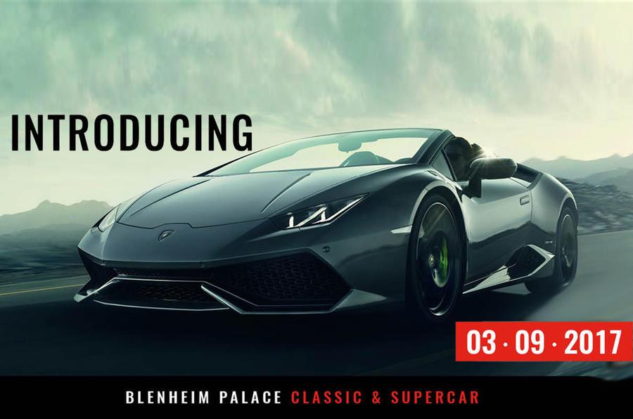 Blenheim Palace Classic & Supercar Show